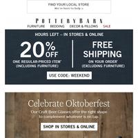 Autumns Up! Oktoberfest Essentials + Free Shipping