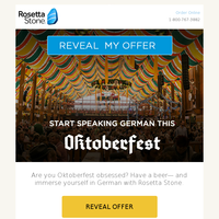 "Say ""prost"" to our Oktoberfest Sale"