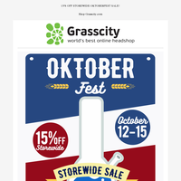 Limited Time Only Oktoberfest Sale!