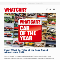Every What Car? Car of the Year winner | SUV deals of the week | New Kia Picanto video review