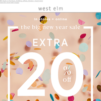 Sparklers, cocktails + a New Years treat! (EXTRA 20% OFF with code BYE2017)