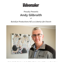 Meet the Speakers for our Church Video Production Conference: Andy Galbraith