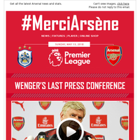 #MerciArsène: The boss' final press conference, plus quotes, audio and video tributes