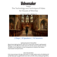 4 Excellent Topics Recently Added to the Church Video Conference