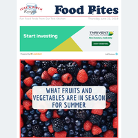 What Fruits & Veggies Are In Season for Summer