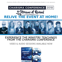 Charisma Conference is Now Available in Video and Audio Sessions!