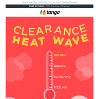 "It's a CLEARANCE ""Heat Wave"""