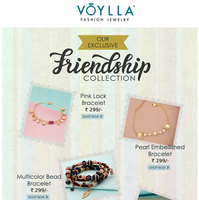 Friendship Day Specials! Celebrate friends and fashion with Voylla!