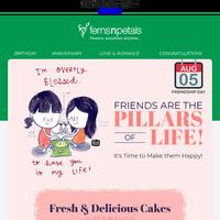 ALERT: Friendship Day is Just 2 Days Away!
