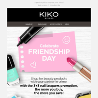 Celebrate FRIENDSHIP DAY with us!