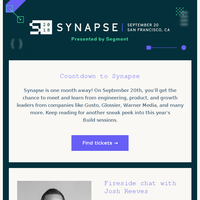 Synapse Newsletters, Email Campaigns, Marketing Emails