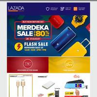 Merdeka Sale - Buy Now Before SST!