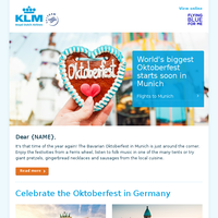Travel to the world's biggest Oktoberfest