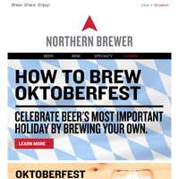 ENCLOSED: Your Definitive Guide to Brewing for Oktoberfest