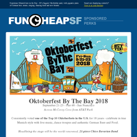 SF's Biggest Oktoberfest Party is Here - September 21-23
