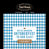 Our NEW Oktoberfest celebration is brewing 🍻