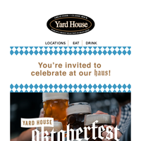 Prost, {NAME}! Oktoberfest is here!