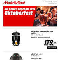Die besten Angebote zum Oktoberfest