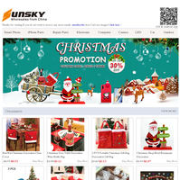 Christmas Promotion UP TO 30% OFF