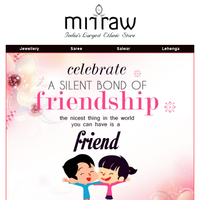 Up to 60% discount on all products | Happy friendship day ➢