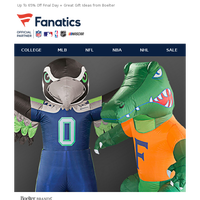 OH MY! Inflatable Mascots Are Here