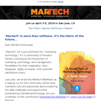 Are you a member of the MarTech community? Check out the Manifesto and find out.