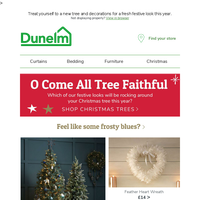 Easy as 1, 2, Tree: Find your festive new look