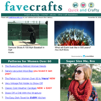 25 Patterns for Women Over 60