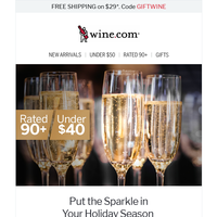 Customer Favorites! Party-Ready Sparklers Under $40 + FREE SHIPPING Ends Tonight!
