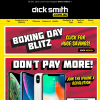 Boxing Day Deals on iPhone XR - Ending Soon!