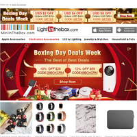 Boxing Day Deals Week>>FREE SHIPPING on orders over USD $25