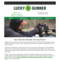 New Year, New Specials, New Gun Review!