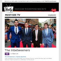 Don't miss: The Inbetweeners at 11:55pm on E4