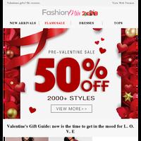 Valentines gifts? No worries.