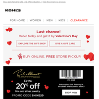 Find gifts in time for Valentine's Day - explore our gift shop now! ♥