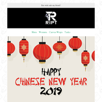 Happy Chinese New Year - 25% OFF 🐷