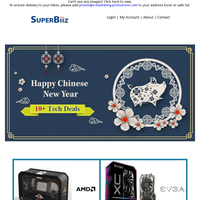 Happy Chinese New Year - 10+ Tech Coupons Are Here