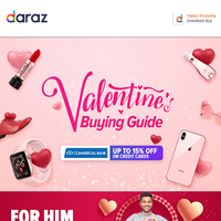 Celebrate Valentines with Deals & Discounts up to 70% OFF! | Shop your heart out >