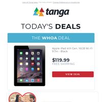 Apple iPad 4th Gen. 16GB Wi-Fi 9.7in - Black | Valentines Day Gourmet Chocolates & Goodies (Gift Sets) | Apple iPhone 6 Plus 16GB 64GB 128GB GSM Unlocked