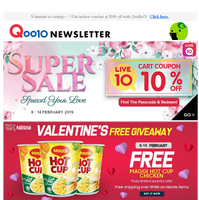 Time to shop for valentines present~~