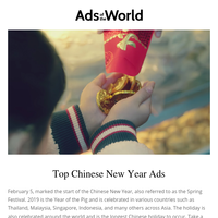 Top Chinese New Year Ads, Grammy Awards Spots & More
