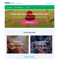 Do you 💗 Learning? Last chance Valentines Day deals