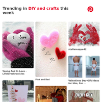 🔥 Valentines day, Valentines, and more Pins trending on Pinterest