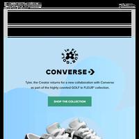 Converse x GOLF le FLEUR*