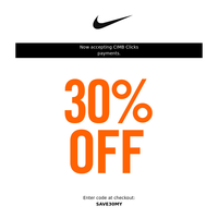 30% Off Classic Nike Styles