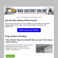 [War History Online] Daily Dispatches