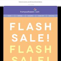 50% Off Rose Flash Sale!