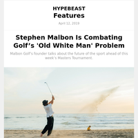 Stephen Malbon Is Combating Golf's 'Old White Man' Problem