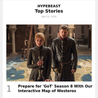 Prepare for 'GoT' Season 8 With Our Interactive Map of Westeros