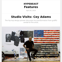 Studio Visits: Cey Adams